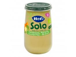 Hero Baby Solo ecológico crema de calabaza y puré de patatas 190g