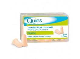 QUIES TAPONES DE OIDO GOMA 6 UDS.